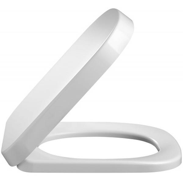 Replay 4964K-00 БелаяКомплектующие<br>Крышка-сиденье Jacob Delafon Replay 4964K-00 из полипропилена белая.<br>В составе комплектации крышка-сиденье.<br>
