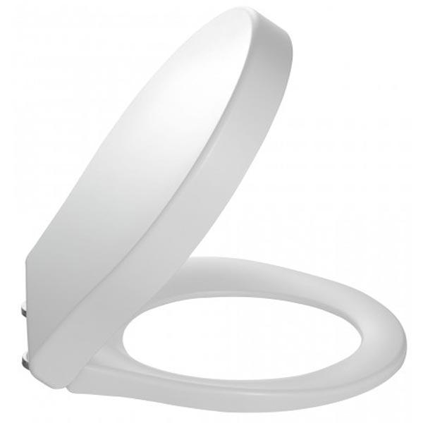 Крышка-сиденье Jacob Delafon Viragio 6472K-00 Белая Микролифт биде jacob delafon viragio e4774 00 подвесное белое