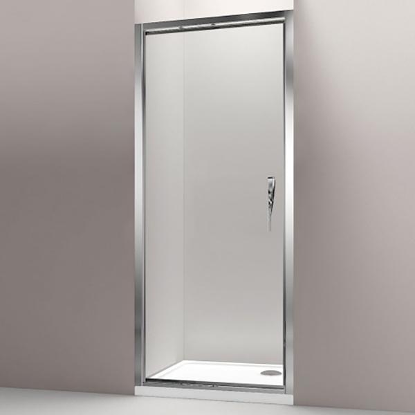 Torsion 90 R стекло прозрачноеДушевые ограждения<br>Душевая дверь Jacob Delafon Torsion 90 R правая.<br>Раздвижная дверь с современным дизайном.<br>Профиль:<br>Изготовлен из алюминия.<br>Покрытие цвета хром с защитой от известковых отложений.<br>Раздвижной и задвижной роликовый механизм с возможностью фиксации двери.<br>Порожек обеспечивает плотное прилегание.<br>Регулировка по ширине: 20 мм.<br>Стекло:<br>Безопасное закаленное стекло.<br>Цвет: прозрачный.<br>Толщина стекла: 8 мм.<br>Латунные ручки.<br>Монтаж: в нишу или для формирования душевого уголка.<br>В комплекте поставки: душевая дверь.<br>