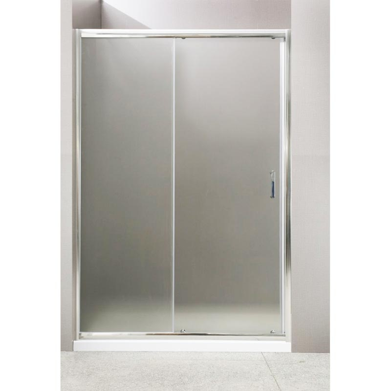Душевая дверь BelBagno Uno 145x185 профиль Хром стекло прозрачное душевая дверь в нишу belbagno uno bf 1 100 профиль хром стекло прозрачное