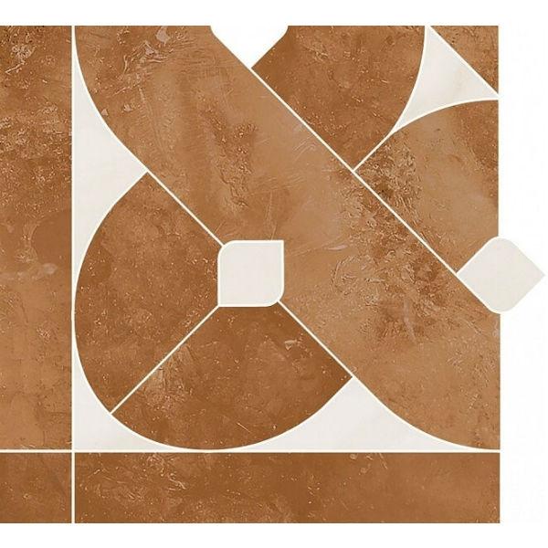 Керамическая вставка Kerama Marazzi Павловск наборный угол 18.5х17 см