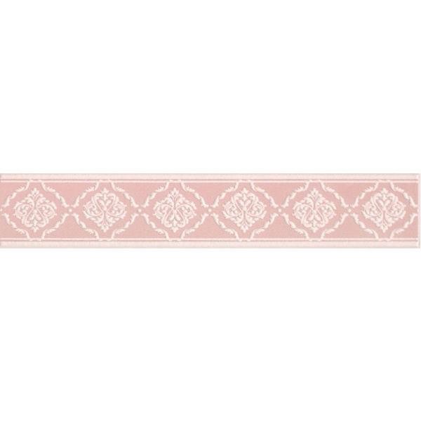 Керамический бордюр Kerama Marazzi Петергоф розовый 40.2х7.7 см керамический декор kerama marazzi петергоф овал obc001 8 5х12 5 см