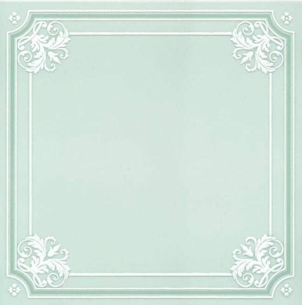 Керамический декор Kerama Marazzi Петергоф зеленый 40.2х40.2 см керамический декор kerama marazzi петергоф овал obc001 8 5х12 5 см