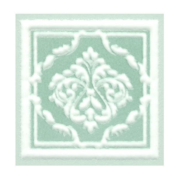 Керамическая вставка Kerama Marazzi Петергоф зеленый 7.7х7.7 см стоимость