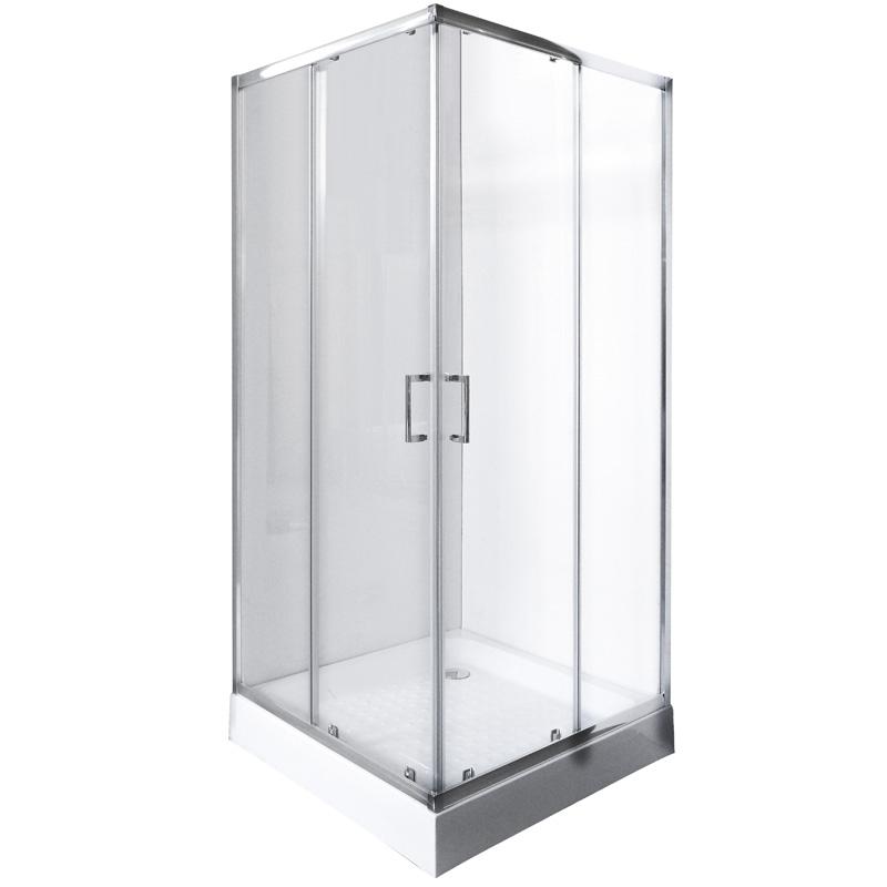 Душевой уголок Rush Victoria VI-S29090 Хром стекла прозрачные цены онлайн