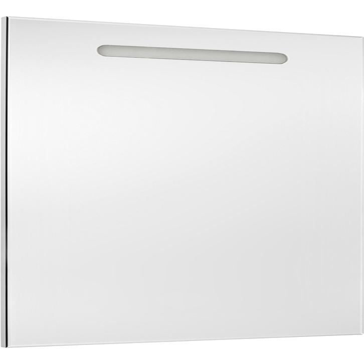 The Gap 100 ХромМебель для ванной<br>Зеркало Roca Gap 100 ZRU9302809.<br><br><br>Зеркало коллекции The Gap выполнено в лаконичном дизайне и отлично впишется в интерьер ванной комнаты в современном или хай-тек стиле. Для удобства эксплуатации оно оснащено встроенной подсветкой с сенсорным выключателем и системой защиты от запотевания.<br><br><br><br>Габариты изделия (ШxВxГ): 100x85x3,2 см.<br>Подсветка с сенсорным выключателем.<br>Система антизапотевание.<br>Материал корпуса: стекло.<br>Монтаж подвесной.<br><br><br>Объем поставки: зеркало, крепления.<br>