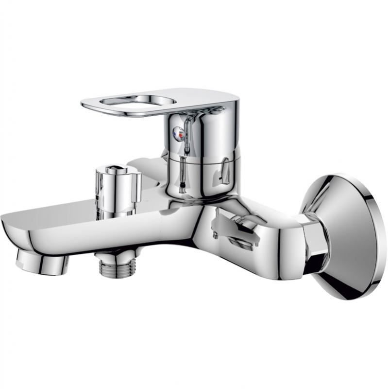 Смеситель для ванны Rush Edge ED7735-44 Хром комплектующие