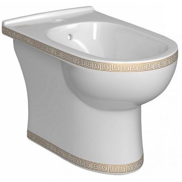 лучшая цена Биде Della Globus DE3114000018 Версаче золото Белое