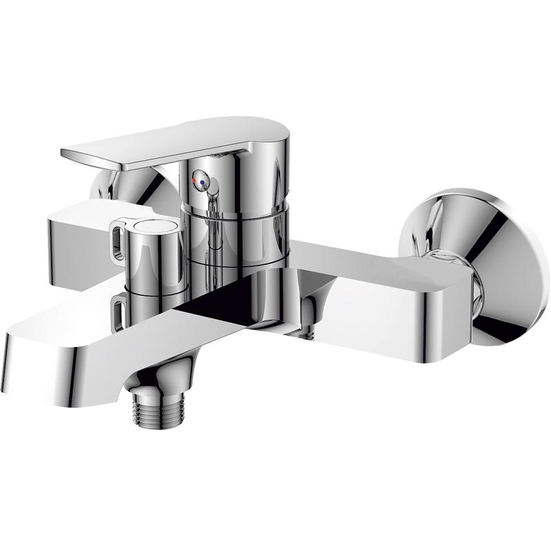 Смеситель для ванны Rush Balearic BA3935-44 Хром комплектующие
