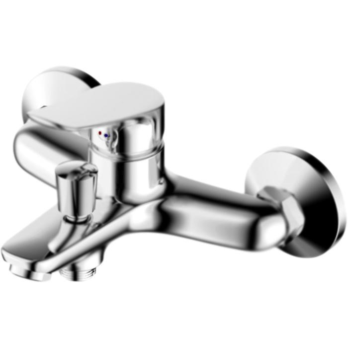 Origin One 811000000 ХромСмесители<br>Настенный смеситель для ванны Damixa Origin One 811000000 однорычажный, с аэратором. Сенсация для любителей минимализма и функциональности от RedBlu by Damixa. Безупречный вид и высококачественные материалы в сочетании с демократичной ценой.<br>Конструкция:<br><br>Покрытие: глянцевый хром.<br>Корпус: высококачественная латунь.<br>Фиксированный излив: L 15,2 см.<br>Удобный угол наклона аэратора.<br>Механизм: керамический картридж.<br>Переключатель душ/излив.<br>Монтаж: настенный, две точки креплений.<br>Расстояние между центрами креплений: 15+/-1,5 см.<br>Подсоединение шланга: нижнее.<br>Стандарт подключения: G 1/2.<br><br>В комплекте поставки:<br><br>смеситель;<br>комплект креплений.<br><br>