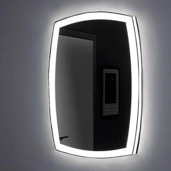 Тоскана 80х85 с Led-подсветкой с инфракрасным управлениемМебель для ванной<br>Зеркало Aquanet Тоскана 80х85 00196665 с Led-подсветкой и инфракрасным датчиком.<br>Зеркало имеет форму прямоугольника с изогнутыми сторонами.<br>Покрытие зеркала Акванет Toscana - зеркальная амальгама высокого качества. Световые блоки расположены по периметру зеркального полотна, благодаря чему подсветка образует оригинальную светящуюся рамку вокруг зеркала. Свет неяркий, приглушенный.<br>Выключатель инфракрасный - чтобы включить светильник, нужно поднести к нему руку.<br>Объем поставки:<br>Зеркало<br>Инфракрасный выключатель<br><br>