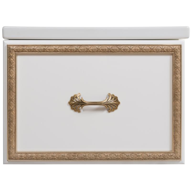 e9e663307 Купить мебель для ванной Rush Bianki 60 подвесная белая с золотом с ...