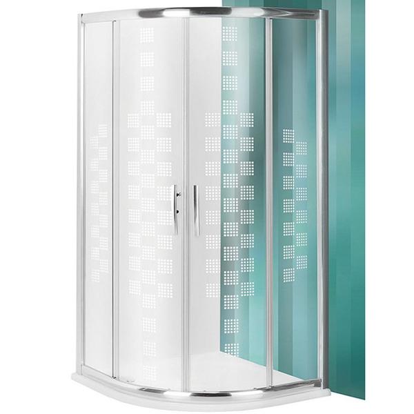 Proxima Line PXR2N Design Plus 90х90 профиль Brillant стекло PatternДушевые ограждения<br>Душевой уголок Roltechnik Proxima Line PXR2N Design Plus 532-900R55N-00-17 90х90 см радиальный в форме четверти круга с двумя раздвижными дверями. Идеальное решение для просторных ванных комнат. Визуально легкие и прочные душевые уголки Roltechnik – совершенное качество и превосходный дизайн.<br>Монтаж осуществляется либо на поддон, либо на пол, оборудованный для душа.<br><br>Облегченный доступ через полностью раздвижные двери.<br>Ролики на подшипниках (верхние сдвоенные) с механизмом для расфиксации для удобного обслуживания.<br>Установлены высокоэластичные герметизирующие уплотнители с удлиненным сроком службы.<br>Безопасное каленое стекло с узором толщиной 6 мм и покрытием Rolshield - препятствует образованию подтеков и следов загрязнений на поверхности.<br>Регулируемый профиль +/- 2,5 см (88 - 90,5 см) и ручки из хромированного алюминия.<br>Ширина входа 56 см.<br><br>В комплекте поставки: стекло, профиль, фурнитура, крепежные элементы, инструкция.<br>