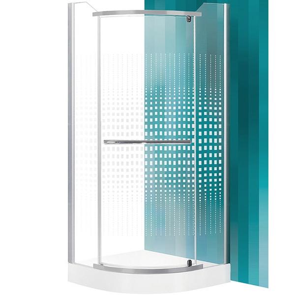 SaniPro Austin 80х80 профиль Silver стекло PrintДушевые ограждения<br>Душевой уголок Roltechnik SaniPro Austin N0128 80х80 см радиальный в форме четверти круга с одной распашной дверью. Идеальное решение для просторных ванных комнат. Визуально легкие и прочные душевые изделия Roltechnik – совершенное качество и превосходный дизайн.<br>Монтаж осуществляется либо на поддон, либо на пол, оборудованный для душа.<br><br>Облегченный доступ через полностью распашную дверь.<br>Установлены высокоэластичные герметизирующие уплотнители с удлиненным сроком службы.<br>Безопасное каленое стекло с узором толщиной 6 мм и покрытием Rolshield - препятствует образованию подтеков и следов загрязнений на поверхности.<br>Регулируемый профиль +/- 2 см (78 - 80 см) и ручки из хромированного алюминия.<br>Ширина входа 59 см.<br><br>В комплекте поставки: стекло, профиль, фурнитура, крепежные элементы, инструкция.<br>