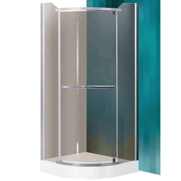 SaniPro Denver 80х80 профиль Silver стекло RauchДушевые ограждения<br>Душевой уголок Roltechnik SaniPro Denver N0268 80х80 см радиальный в форме четверти круга с одной распашной дверью. Идеальное решение для просторных ванных комнат. Визуально легкие и прочные душевые изделия Roltechnik – совершенное качество и превосходный дизайн.<br>Монтаж осуществляется либо на поддон, либо на пол, оборудованный для душа.<br><br>Облегченный доступ через полностью распашную дверь.<br>Установлены высокоэластичные герметизирующие уплотнители с удлиненным сроком службы.<br>Безопасное каленое стекло с узором толщиной 6 мм и покрытием Rolshield - препятствует образованию подтеков и следов загрязнений на поверхности.<br>Регулируемый профиль +/- 2 см (78 - 80 см) и ручки из хромированного алюминия.<br>Ширина входа 59 см.<br><br>В комплекте поставки: стекло, профиль, фурнитура, крепежные элементы, инструкция.<br>