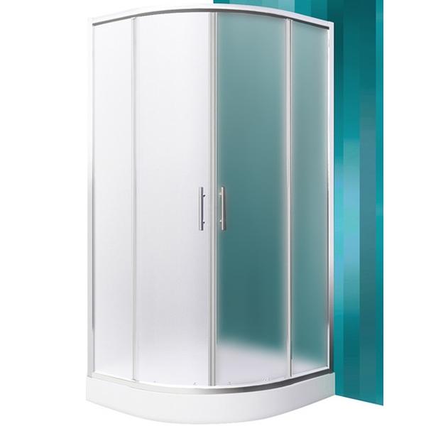 SaniPro Houston Neo 80х80 профиль Brillant стекло Matt GlassДушевые ограждения<br>Душевой уголок Roltechnik SaniPro Houston Neo N0648 80х80 см радиальный в форме четверти круга с двумя раздвижными дверями. Идеальное решение для просторных ванных комнат. Визуально легкие и прочные душевые изделия Roltechnik – совершенное качество и превосходный дизайн.<br>Монтаж осуществляется либо на поддон, либо на пол, оборудованный для душа.<br><br>Установлены высокоэластичные герметизирующие уплотнители с удлиненным сроком службы.<br>Ролики с механизмом для расфиксации для удобного обслуживания.<br>Безопасное каленое стекло с узором толщиной 6 мм и покрытием Rolshield - препятствует образованию подтеков и следов загрязнений на поверхности.<br>Регулируемый профиль +/- 1 см (78 - 79 см) из хромированного алюминия.<br>Ширина входа 42 см.<br>Держатель из хромированной латуни.<br><br>В комплекте поставки: стекло, профиль, крепежные элементы, инструкция.<br>