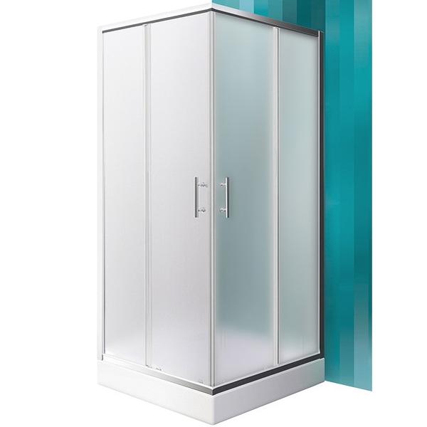 SaniPro Orlando Neo 80х80 профиль Brillant стекло Matt GlassДушевые ограждения<br>Душевой уголок Roltechnik SaniPro Orlando Neo N0654 80х80 см квадратной формы с двумя раздвижными дверями. Идеальное решение для просторных ванных комнат. Визуально легкие и прочные душевые изделия Roltechnik – совершенное качество и превосходный дизайн.<br>Монтаж осуществляется либо на поддон, либо на пол, оборудованный для душа.<br><br>Установлены высокоэластичные герметизирующие уплотнители с удлиненным сроком службы.<br>Ролики с механизмом для расфиксации для удобного обслуживания.<br>Безопасное каленое стекло с узором толщиной 6 мм и покрытием Rolshield - препятствует образованию подтеков и следов загрязнений на поверхности.<br>Регулируемый профиль +/- 1 см (78 - 79 см) из хромированного алюминия.<br>Ширина входа 41,5 см.<br>Держатель из хромированной латуни.<br><br>В комплекте поставки: стекло, профиль, крепежные элементы, инструкция.<br>