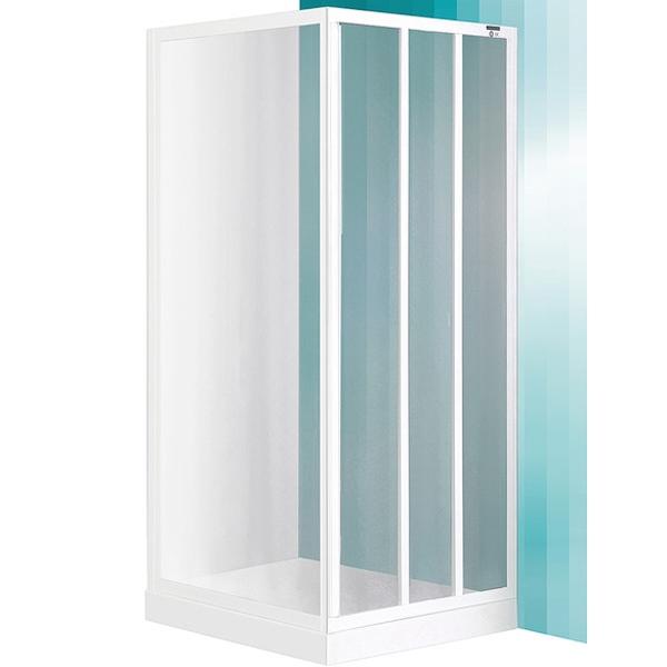 SaniPro LD3 80х180 профиль White стекло GrapeДушевые ограждения<br>Дверь душевого уголка Roltechnik SaniPro LD3 215-8000000-04-11 80х180 см раздвижная, трехстворчатая. Идеальное решение для просторных ванных комнат. Визуально легкие и прочные душевые изделия Roltechnik – совершенное качество и превосходный дизайн.<br>Монтаж осуществляется либо на поддон, либо на пол, оборудованный для душа.<br><br>Установлены высокоэластичные герметизирующие уплотнители с удлиненным сроком службы.<br>Ролики с механизмом для расфиксации для удобного обслуживания.<br>Безопасное каленое стекло с узором толщиной 3 мм и покрытием Rolshield - препятствует образованию подтеков и следов загрязнений на поверхности.<br>Регулируемый профиль +/- 6 см (76 - 82 см) из алюминия.<br>Ширина входа 40 см.<br>Держатели из латуни.<br><br>В комплекте поставки: стекло, профиль, крепежные элементы, инструкция.<br>