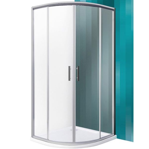 SaniPro HGRD2 90х90 профиль Brillant стекло TransparentДушевые ограждения<br>Душевой уголок Roltechnik SaniPro HGRD2 224-9001R55-00-02 90х90 см радиальный в форме четверти круга с двумя раздвижными дверями. Идеальное решение для просторных ванных комнат. Визуально легкие и прочные душевые изделия Roltechnik – совершенное качество и превосходный дизайн.<br>Монтаж осуществляется либо на поддон, либо на пол, оборудованный для душа.<br><br>Облегченный доступ через полностью распашную дверь.<br>Установлены высокоэластичные герметизирующие уплотнители с удлиненным сроком службы.<br>Безопасное каленое стекло с узором толщиной 6 мм и покрытием Rolshield - препятствует образованию подтеков и следов загрязнений на поверхности.<br>Регулируемый профиль +/- 2,5 см (87,5 - 90 см) и ручки из хромированного алюминия.<br>Ширина входа 53 см.<br><br>В комплекте поставки: стекло, профиль, фурнитура, крепежные элементы, инструкция.<br>