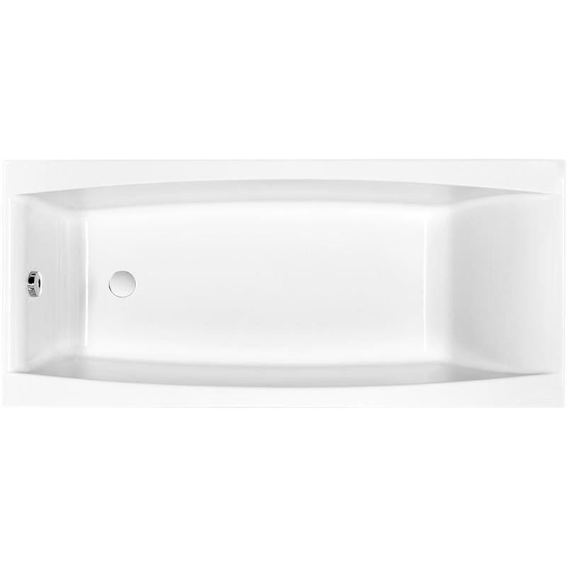 Акриловая ванна Cersanit Virgo 180х80 Белая цена в Москве и Питере