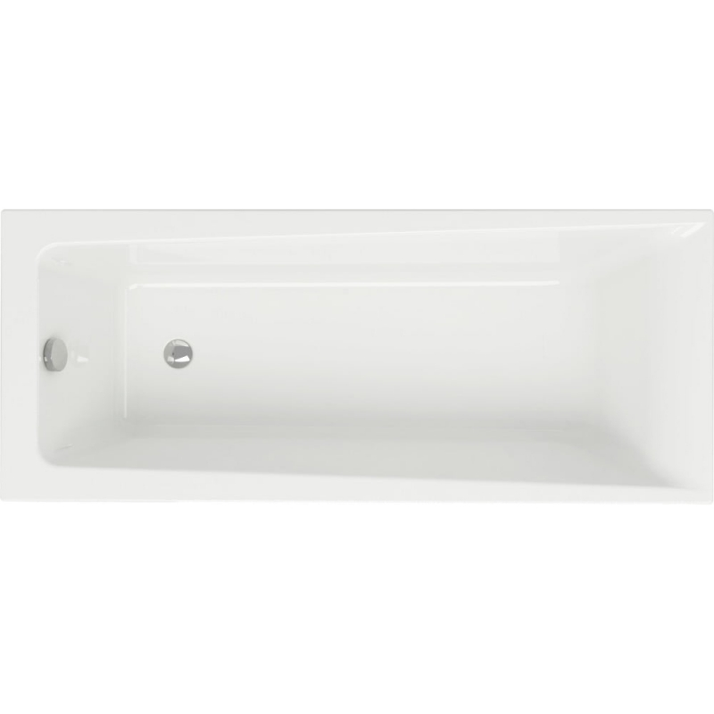 Акриловая ванна Cersanit Lorena 170х70 Белая
