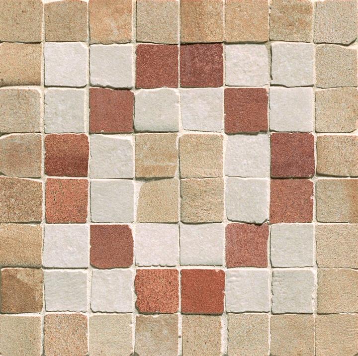 Керамическая мозаика Fap Ceramiche Firenze Heritage Deco Terra Angolo Fascia Mosaico 15х15 см цена