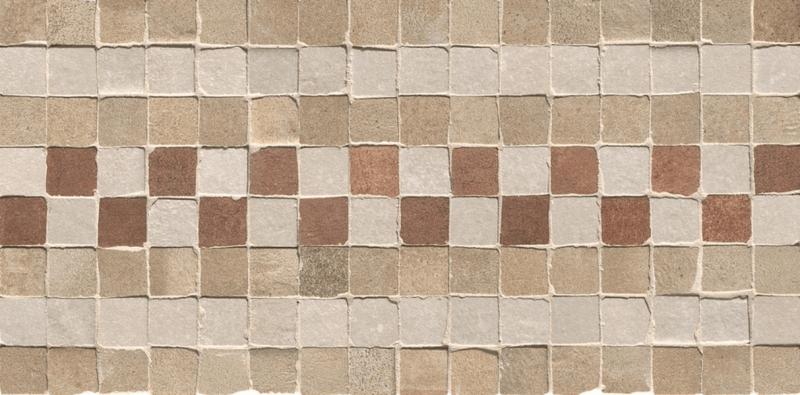 Керамическая мозаика Fap Ceramiche Firenze Heritage Deco Terra Fascia Mosaico 15х30 см цена