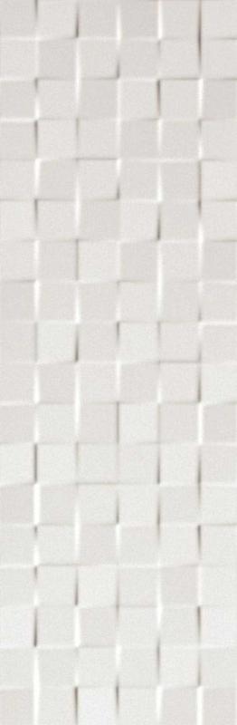Керамическая плитка Fap Ceramiche Lumina Square White Matt настенная 25х75 см керамическая плитка fap ceramiche lumina glam net taupe настенная 30 5х91 5 см