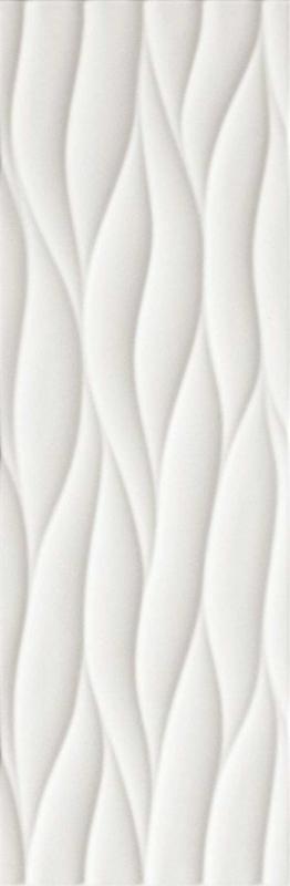 Керамическая плитка Fap Ceramiche Lumina Curve White Matt настенная 25х75 см керамическая плитка fap ceramiche lumina glam net taupe настенная 30 5х91 5 см