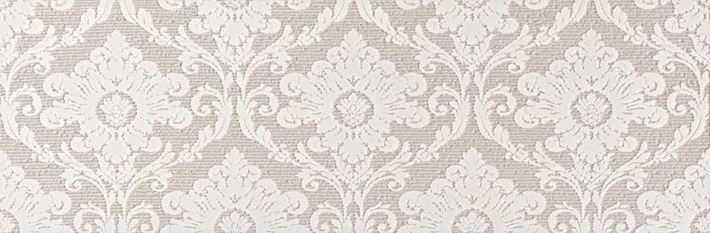 Керамический декор Fap Ceramiche Lumina Glam Lace Pearl Damasco Inserto 30,5х91,5 см