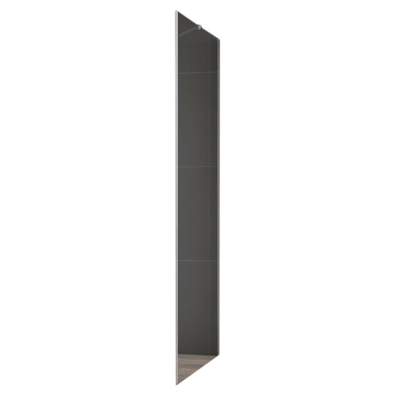 Slider Fix 90 Прозрачное стекло, профиль хромДушевые ограждения<br>Боковая стенка для душевого уголка Cezares Slider Fix 90 (SLIDER-90-FIX-C-Cr).<br><br><br>Боковая панель с прозрачным стеклом и алюминиевым профилем цвета хром отлично впишется в интерьер ванны в любом стилистическом оформлении.<br><br><br><br>Универсальная ориентация.<br>Варианты установки: напольная, на поддон.<br>Толщина полотна: 8 мм.<br>Профиль из анодированного алюминия, полотно из прочного закаленного стекла.<br><br><br>Объем поставки: боковая стенка для душевого уголка, крепления, инструкция.<br>