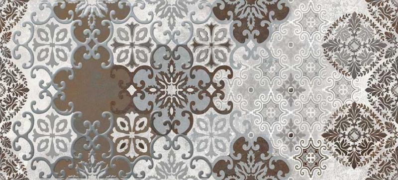 Керамический декор Cersanit Alrami вставка многоцветная AM2G451 20х44 см керамический декор cersanit atria вставка бежевая an2g011 20х44 см