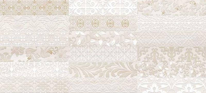 Керамический декор Cersanit Atria вставка бежевая AN2G011 20х44 см керамический декор cersanit atria вставка бежевая an2g011 20х44 см