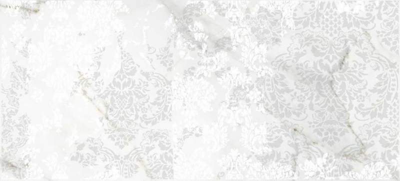 Керамическая вставка Cersanit Capella белая CP2G051 20х44 см цена в Москве и Питере