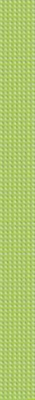 Dalia зеленый DL7H351 4х45 смКерамическая плитка<br>Бордюр стеклянный Cersanit Dalia зеленый DL7H351 4х45 см глянцевый имеет рельефную поверхность в виде небольших выпуклых точек по всей плоскости бордюра. В упаковке 10 штук. Вес упаковки составляет 3,37 кг.<br>