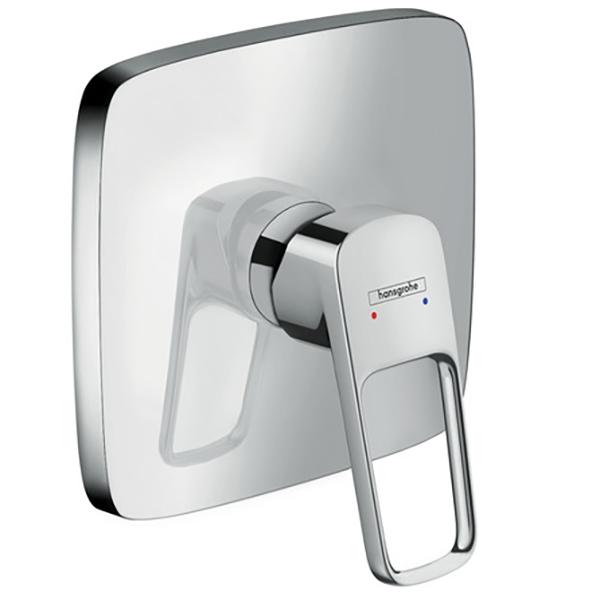 Logis Loop 71267000 ХромСмесители<br>Смеситель для душа Hansgrohe Logis Loop 71267000.<br>Лаконичная и изящная модель для ванных комнат в современном стиле.<br>Смеситель изготовлен из качественной латуни с глянцевым покрытием цвета хром.<br>Точная установка напора и температуры воды.<br>Керамический картридж.<br>В комплекте поставки: внешняя часть смесителя.<br>