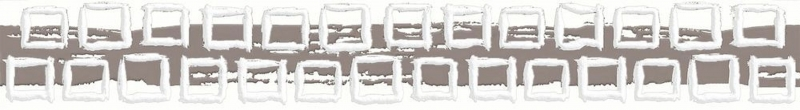 Eifel серый EI1M091DT 5х35 смКерамическая плитка<br>Керамический бордюр Cersanit Eifel серый EI1M091DT 5х35 см матовый слегка взбодрит спокойный монохромный с принтом из квадратов. В упаковке 20 штук. Вес упаковки составляет 4,44 кг.<br>