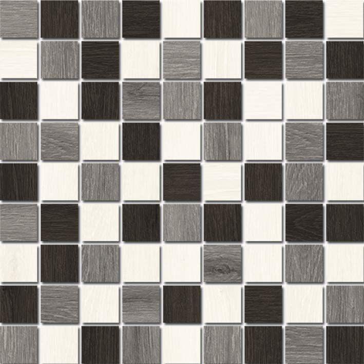 Illusion A-IL2L451  30х30 смКерамическая плитка<br>Керамическая мозаика Cersanit Illusion A-IL2L451 20х44 см матовая выполнена в стиле шахматной геометрии, отличается великолепным качеством исполнения, изящным дизайном и практичностью. В упаковке 17 штук. Вес упаковки составляет 23 кг.<br>