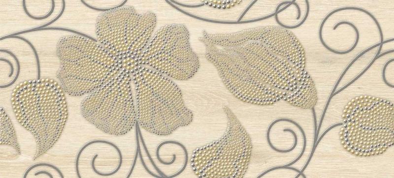 Illusion многоцветный  IL2G451  20х44 смКерамическая плитка<br>Керамический декор Cersanit Illusion многоцветный IL2G451 20х44 см матовый выполнен фантазийными цветочными мотивами, отличается великолепным качеством исполнения, изящным дизайном и практичностью. В упаковке 7 штук. Вес упаковки составляет 9,41 кг.<br>