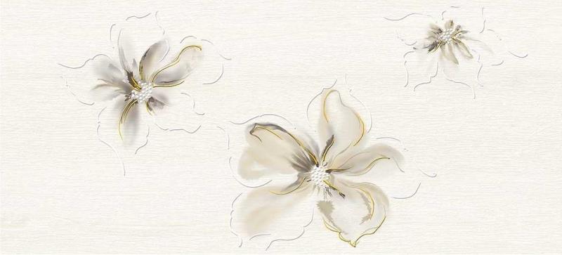 Керамический декор Cersanit Illusion светло-бежевый IL2G303 20х44 см керамический декор cersanit atria вставка бежевая an2g011 20х44 см