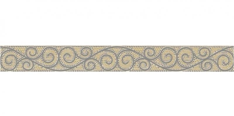 Керамический бордюр Cersanit Illusion многоцветный IL1J451 5х44 см