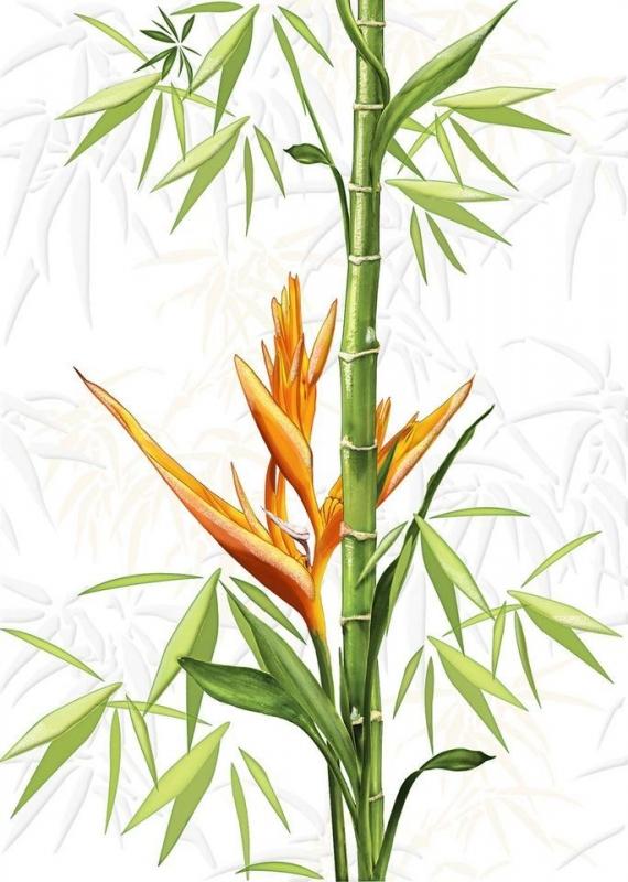 Jungle белый JU2M051 25х35 смКерамическая плитка<br>Керамический декор Cersanit Jungle белый JU2M051 25х35 см глянцевый выполнен в белом цвете, на основу которого нанесено красивое изображение растительности и пары поющих диковинных птиц. Такое оригинальное решение станет изысканной изюминкой любого декора и, несомненно, украсит каждое помещение. В упаковке 15 штук общей площадью 1,16 м2. Вес упаковки составляет 21,0 кг.<br>