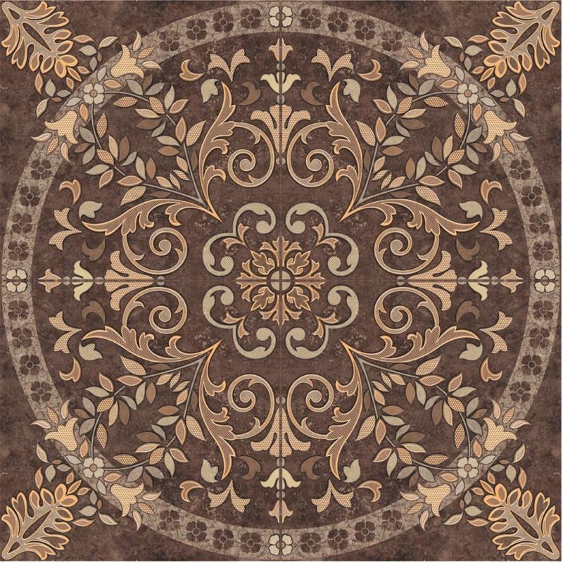 все цены на Керамическое панно Cersanit Pompei коричневое PY6R114 84х84 см онлайн