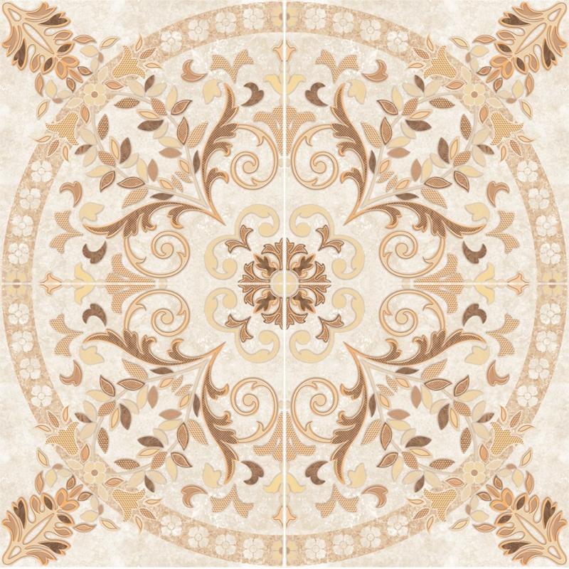 все цены на Керамическое панно Cersanit Pompei светло-бежевое PY6R304 84х84 см онлайн