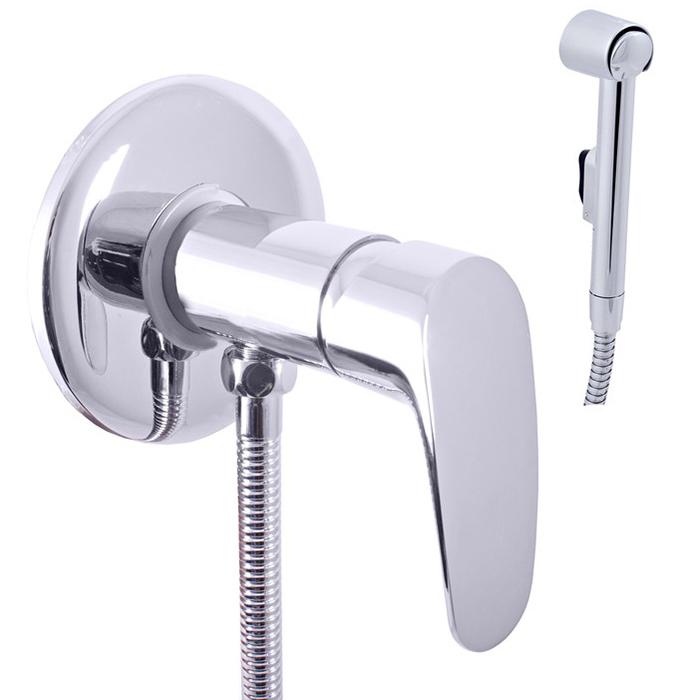 Гигиенический душ со смесителем Rav Slezak Amur AM747 Хром