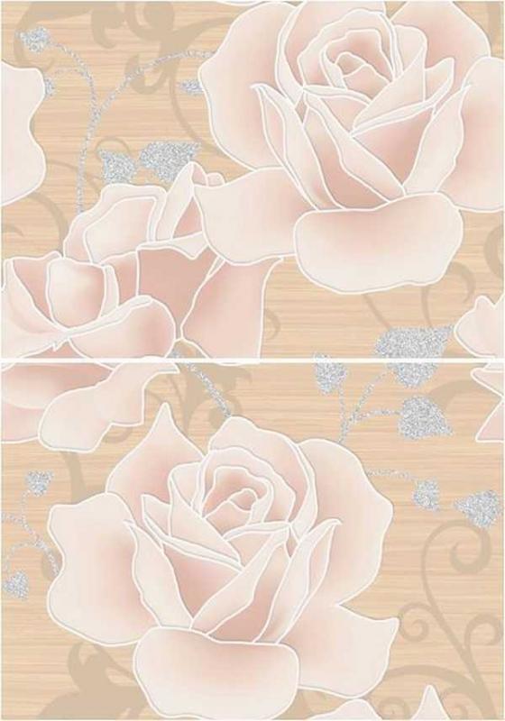 Miranda Flora розы MW2M452DT 35х50 смКерамическая плитка<br>Керамическое панно Cersanit Miranda Flora розы MW2M452DT 35х50 см из 2-х плиток глянцевое с изображением нежнейших роз. Предназначено для облицовки ванных комнат стандартных габаритов. В упаковке 7 штук. Вес упаковки составляет 19,6 кг.<br>