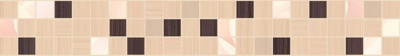 Miranda Flora бежевый MW1M451 5х35 смКерамическая плитка<br>Керамический бордюр Cersanit Miranda Flora бежевый MW1M451 5х35 см глянцевый с рельефными модулями псевдомозаики. Он словно собран из кусочков кафеля из этой коллекции. Предназначен для облицовки ванных комнат стандартных габаритов. В упаковке 20 штук. Вес упаковки составляет 4,34 кг.<br>