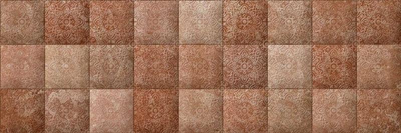 Morocco коричневая рельефная C-MQS112D настенная 20х60 смКерамическая плитка<br>Керамическая плитка Cersanit Morocco коричневая рельефная C-MQS112D настенная 20х60 см глянцевая выполнена в теплых терракотовых тонах по технологии монопороза, имитирует мозаику в этно-стиле из крупных разнотонных чипов. Если приглядеться, то можно увидеть, что поверхность украшена потайным орнаментом, проступающим при правильном освещении. В упаковке 9 штук общей площадью 1,08 м2. Вес упаковки составляет 17,2 кг.<br>