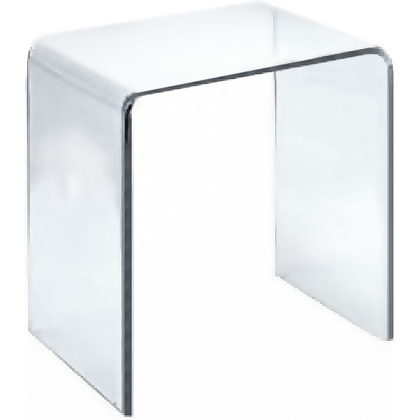 Стул в ванную комнату Timo Plexiglas T-CH прозрачный