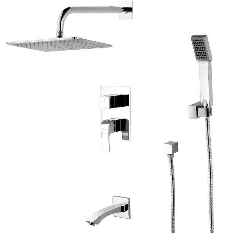 Unit LM4522C ХромДушевые системы<br>Встраиваемая душевая система Lemark Unit LM4522C.<br>Строгие линии и мягкие переходы гармонично переплетаются в изящном дизайне этой модели. Превосходно дополнит интерьер ванной комнаты в современном стиле.<br>Изготовлен из качественной латуни с глянцевым покрытием цвета хром.<br>Керамический эко-картридж 35 мм.<br>Излив длиной 18 см с аэратором.<br>Регулируемый верхний тропический душ прямоугольной формы. Размер: 20x30 см.<br>Однорежимный ручной душ. Размер: 6.5x8 см.<br>Поворотный держатель для душевой лейки.<br>Гибкий шланг длиной 2 м.<br>Подключение для душевого шланга.<br>Трехпозиционный девиатор.<br>Монтаж: встраиваемый.<br>Стандарт подключения: G 1/2.<br>В комплекте поставки: душевая система, внутренняя часть.<br>